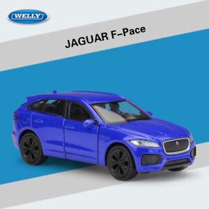 HIGH QUALITY NEW JAGUAR F-PACE BLUE 1:36 DIE CAST METAL MODEL CAR COLLECTION TOY