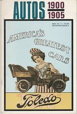 AUTOS 1900 - 1905 Book1 ~Collector's Series 2 by Ted Mayborn Mitch Mayborn 1972