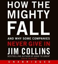 How The Mighty Fall Jim Collins Compact Disc Audiobook CD Unabridged New Sealed