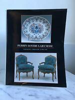 Catalogue Di Vendita Perrin Royère Lavecchia Versailles 13 Mai 1990
