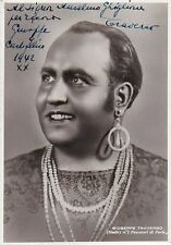 GIUSEPPE TRAVERSO opera tenor signed photo as Nadir - Camuzzi