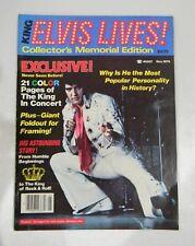 Vintage ELVIS LIVES! MAGAZINE 1979 COLLECTORS MEMORIAL EDITION RARE!