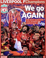 Liverpool FC - Liverpool Echo 32 page Souvenir Guide To The 2020/21 Season