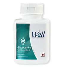 WELL GLUCOSAMINE WITH BOSWELLIA & CURCUMIN SUPPORTS IMMUNE SYSTEM (120 TABLETS)