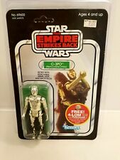 1982 ESB C-3PO (Removable Limbs) Star Wars Carded Figure MOC 47-Back UNPUNCHED