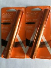 Lot of 2, Almay Liquid Lash Extenders Mascara, 504 Blue Black