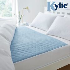 "Kylie-4,Reusable Bed Pad, 139 x 91 cms, 54½"" x 35½"",Blue"