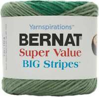 Bernat Super Value Big Stripes Yarn Cactus Field 057355421899