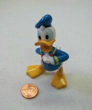 """New Walt Disney DONALD DUCK 3"""" Figure PVC Blue Sailor Suit Cake Topper Toy"""