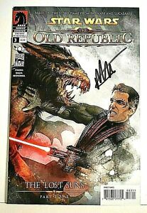 """Star Wars The OLD REPUBLIC #3 Signed by Michael Atiyeh w/COA """"The Lost Suns"""""""