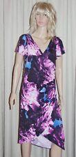 Regular Size Floral Summer/Beach Wrap Dresses for Women
