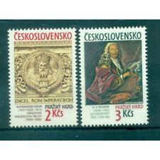 Tchécoslovaquie 1989 - Mi. n. 3003/3004 - Trésors du Chateau de Prague