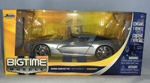 Bigtime Muscle Jada 2009 Corvette Stingray Concept Metal Die Cast,1:24,MIB (B61)