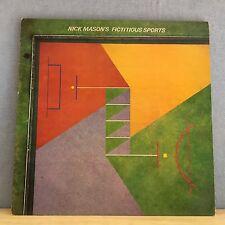NICK MASON CARLA BLEY Nick Mason's Fictitious Sports 1981 UK Vinyl LP EXCELLENT