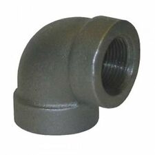 "½"" Black Iron Pipe Threaded 90 Degree Elbow Fittings For Plumbing NPT"