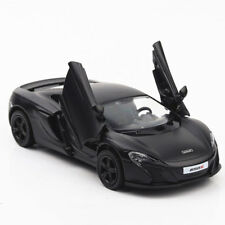 1:36 McLaren 650s Sports Car Model Alloy Diecast Toy Vehicle Black Collection