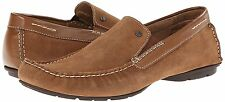 NEW Steve Madden Loafers Mocassins Size 10.5 Nickson Mocha Suede Leather