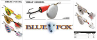 BLUE FOX VIBRAX® FOXTAIL Spinners 6g - 10g Various Colours
