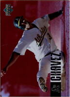 2006 Upper Deck Special F/X Red #326 Eric Chavez /50 - NM-MT