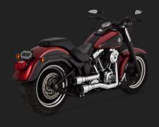 Vance and Hines Grenades Harley Davidson Black Tip Exhaust Kit Softail 1986-17