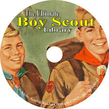 Boy Scout Handbook Collection 56 Scout Books on DVD