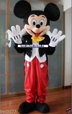 2015 New Mickey Mouse Mascot Costume Adult Size Fancy Dress BIG  @@@04