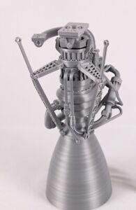 3d printed SpaceX Raptor Engine 1:8