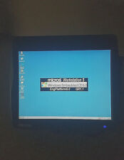 Micros Workstation 5 Pos Terminal with Stand -Touch Screen- W Embedded Ce- Msr