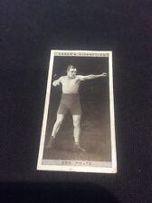 Joe Rolfe 36 1928 Ogdens Boxing Cigarette card Boxer Pugilists in action