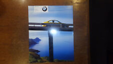 2001 BMW M3 M5 M Roadster M Coupe Convertible Brochure E46 E39