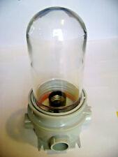 LED CFL Utility Jelly Jar Light Fixture Wet Location Vapor Tight EnergyFicient