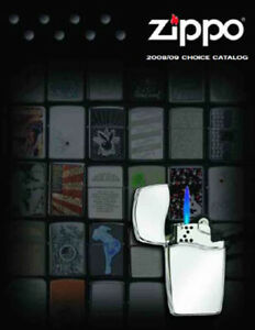 Zippo 2008-2009 Choice Lighter Collection Product Price Catalog Book