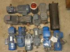 SEW EURODRIVE 220/415 v 3 phase motors and gearboxes check pics.