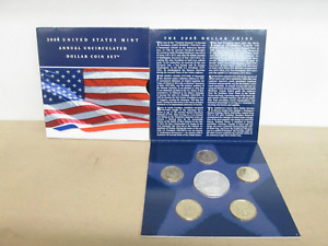2008 U.S. Uncirculated Set, Annual Dollar With Silver Eagle