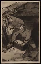 carte postale militaire 10TH ANNUAL DELLA VICTOIRE