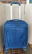 Samsonite GT Dual Softside Lightweight and Durable Cabin Suitcase in Blue