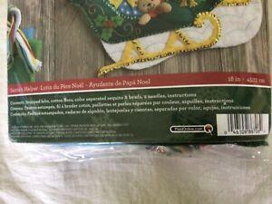 Older Bucilla Felt Christmas Stocking Set Unopened