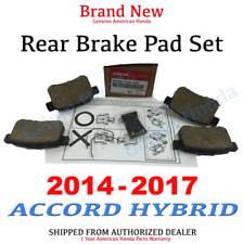 2014- 2017 Honda ACCORD HYBRID SEDAN Genuine Factory OEM Rear Brake Pad Set