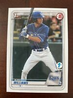 2020 Bowman Draft 1st Edition BD136 Alika Williams Tampa Bay Rays