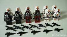 LEGO STAR WARS / X 12 Minifigures Republic Trooper - Sith Trooper