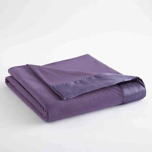 Shavel Micro Flanel Soft & Warm Satin Hemmed All Seasons Sheet Blanket