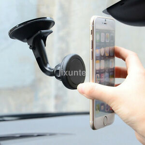 Magnetic Mount Car Windshield Dashboard Suction Cup Phone Holder Stand Support