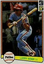 Larry Bowa Phillies 1982 Donruss #63