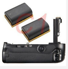 Battery Grip + 2x Decoded LP-E6 Battery for Canon EOS 5D Mark III 5DIII 3 BG-E11