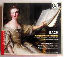 CD J.S.Bach - HARPSICHORD CONCERTOS - Richard Egarr / Andrew Manze