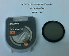 JACOBS DIGITAL 46mm Super Slim CPL Circular Polariser Camera Filter Polarizer