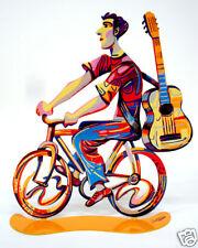 David Gerstein Art Guitar Troubador Troubadour Rider Metal Modern Art Sculpture