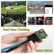 GPS Car Real-time Tracker GSM Locator Remote Control Anti-theft Monitor System