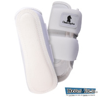 Classic Equine Air Wave Classic Horse Equine Splint Protective Boots White