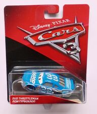 Disney Pixar Cars 3 DUD THROTTLEMAN también conocido como SPRINGS más de 100 automóviles en venta MOOD Reino Unido!